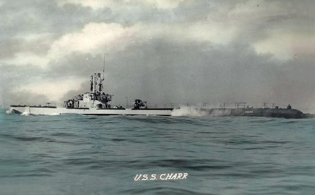 USS Charr (SS-328) in 1946