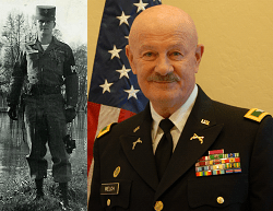 The Army career of Colonel Welch spanned 5 decades, 1959-2001