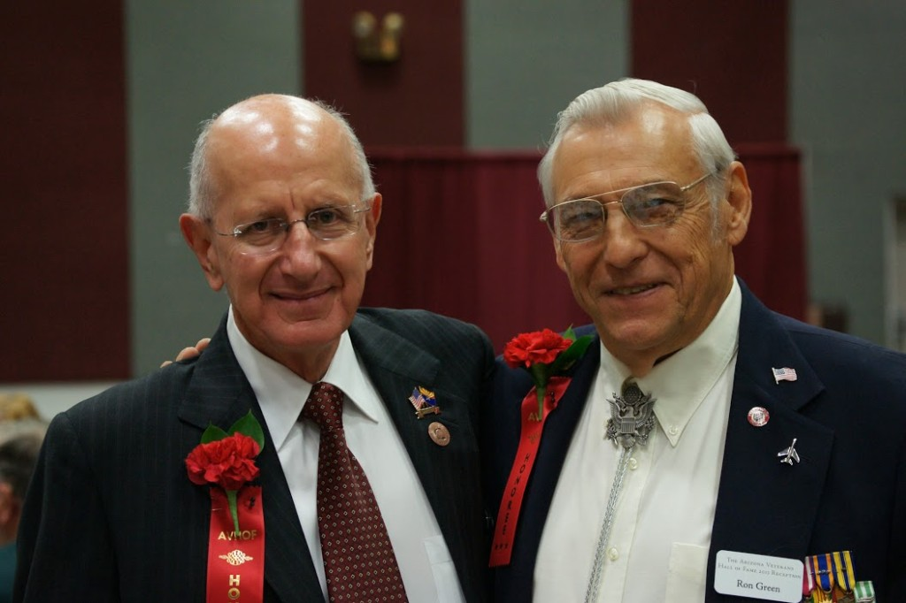 Colonel Gene Rafanell & Lt. Colonel Ron Green